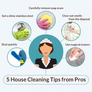 House Cleaning Tips from Pros