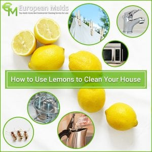 Clever Ways to Clean With a Lemon