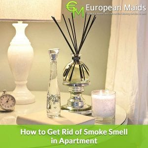Get Rid of Smoke Smell in Apartment