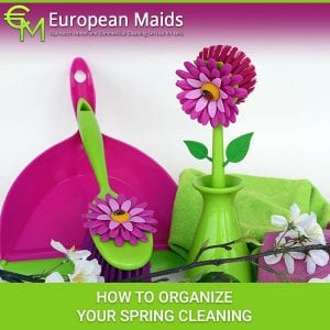 How To Organize Your Spring Cleaning