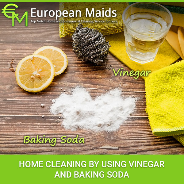 Home Cleaning By Using Vinegar And Baking Soda