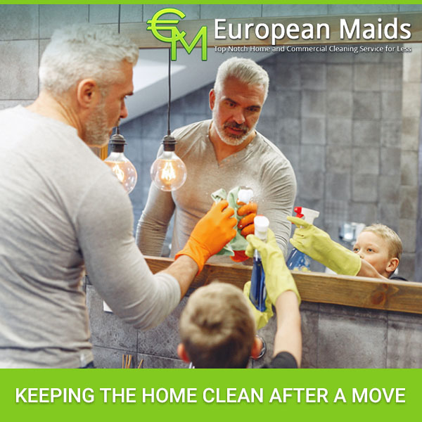 Keeping The Home Clean After A Move