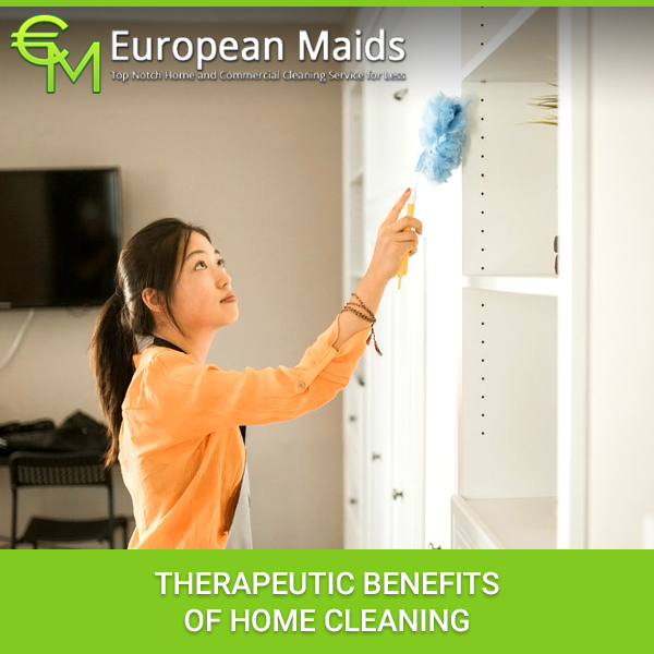 Therapeutic Benefits Of Home Cleaning