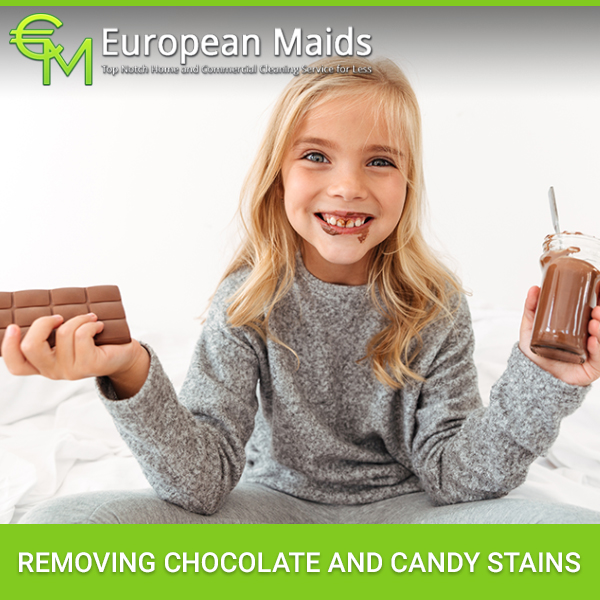 Removing Chocolate And Candy Stains